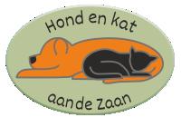 Hond en kat aan de Zaan Logo